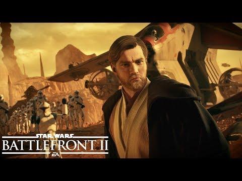 Star Wars Battlefront II: Battle of Geonosis Official Trailer