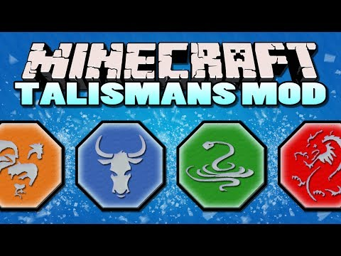 Minecraft Mods - Magical Talismans Mod - BECOME JACKIE CHAN (Minecraft Mod Showcase)