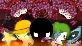 Stickmen Vs Wall of Flesh - Terraria Animation