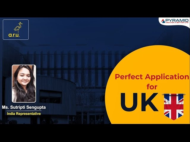 What is required for a perfect application to study in the UK?