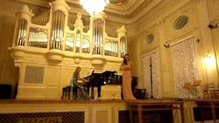 "P. Tchaikovsky . Arioso of Kuma from opera ""Charodeika"""