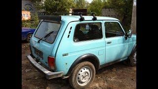 Мужик продал  Kia Sorento  и купил  Ниву 21214 и построил ниву с нуля в идеал. .