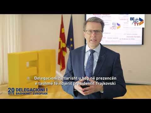 20 год. ДЕЛЕГАЦИЈА НА ЕУ / 20 VITE DELEGACION I BASHKIMIT EVROPIAN