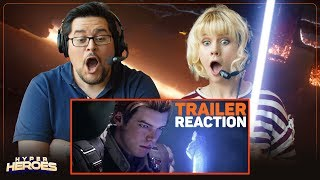 Star Wars Jedi: Fallen Order - Official Trailer Reaction