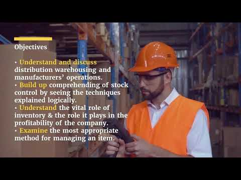 Inventory Management Master Class Training Course - YouTube