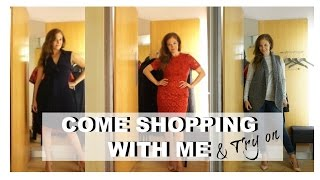 COME SHOPPING WITH ME & TRY ON |   KAREN MILLEN A/W 16  |  Fashion Over 40