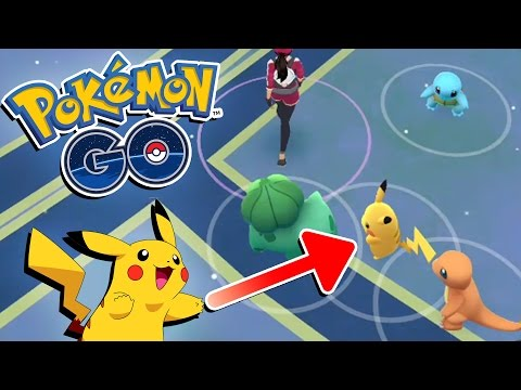 Pokemon GO! HOW TO GET PIKACHU AS STARTER! Pokemon GO Guide How To Catch Pikachu