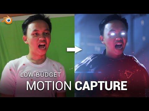 Facial Motion Capture with Blender - смотреть онлайн на Hah Life