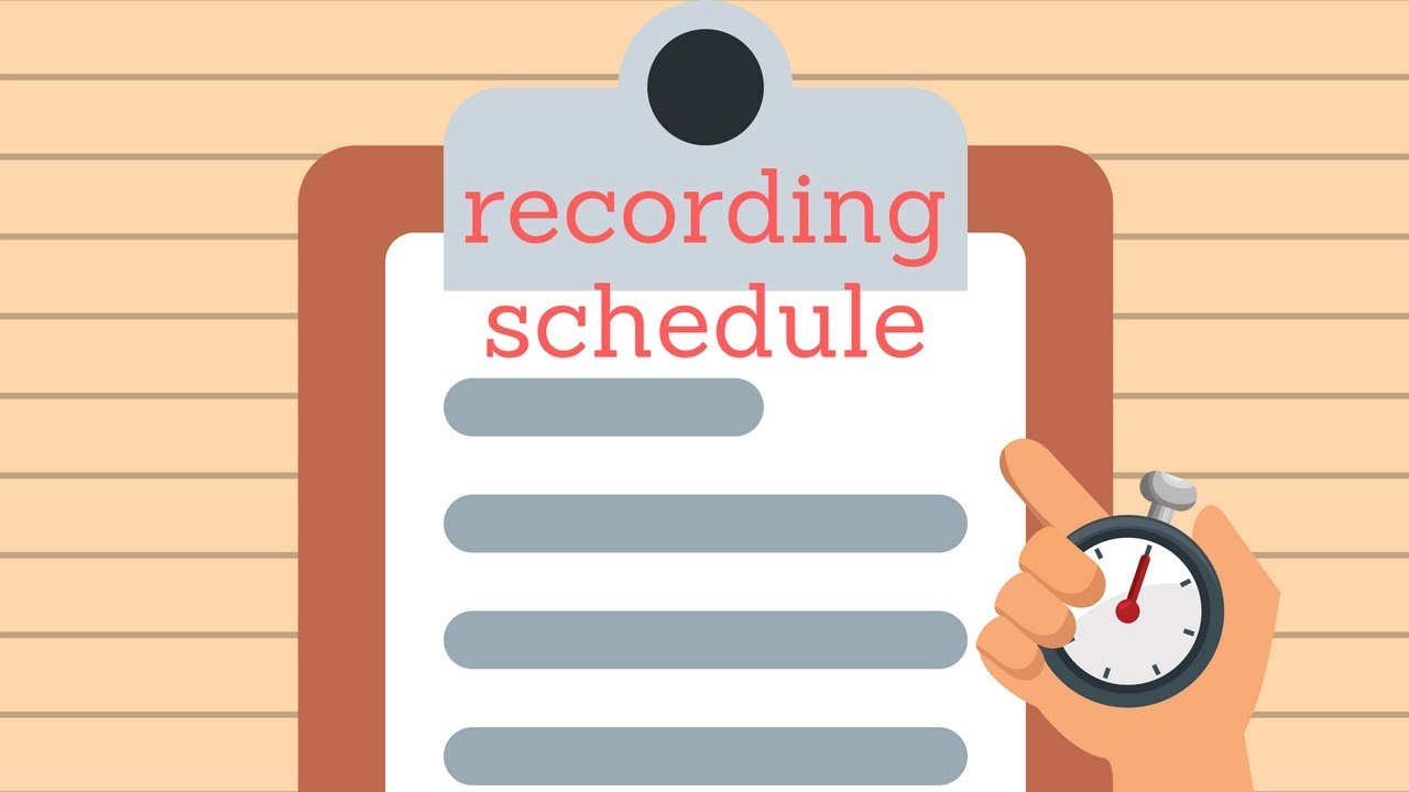 How to Setup a Cloud Recording Schedule with Camcloud