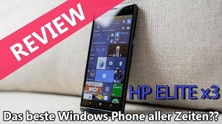 HP Elite X3 Review - Das letzte seiner Art (Deutsch)