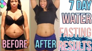 Water Fasting Results Before and After