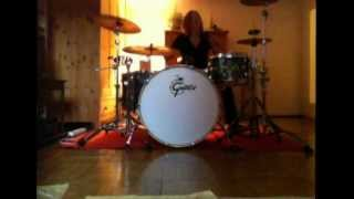 I looked at you the doors drum cover