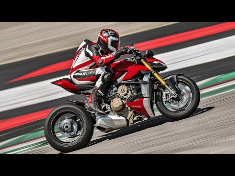 2020 Ducati Streetfighter V4 S in Medford, Massachusetts - Video 1