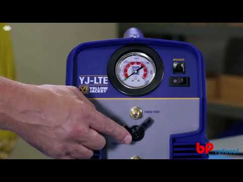 Refrigerant Recovery Unit by Yellow Jacket USA