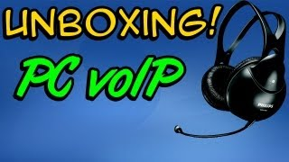 Unboxing Headset Philips SHM1900/00 (PC VoIP) - Especial - #07