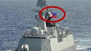 中国军舰突然挂上菲律宾国旗?看完真相忍不住笑了