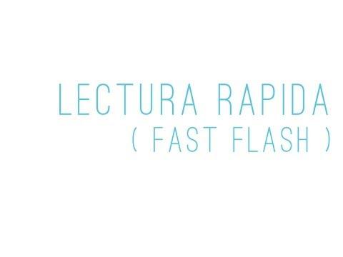 Veure vídeoSíndrome de Down: Enseña a leer con Lectura Rápida Fast Flash)