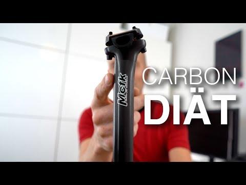 Mcfk Carbon-Sattelstütze am Open U.P.P.E.R. Gravelbike. Alle Details! Unter 7kg Radgewicht möglich?