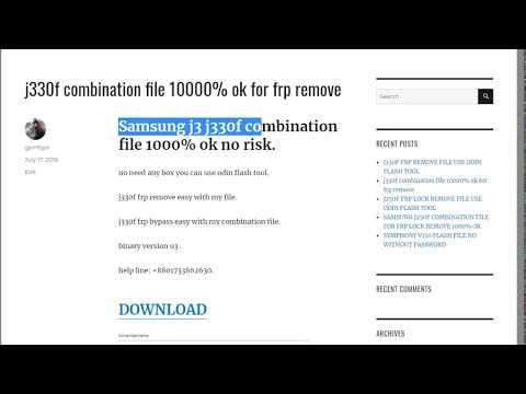 j330f combination file custom binary block by frp lock fix