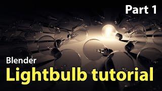 Beginner Blender Modelling Tutorial - Lightbulb Part 1 Of 2