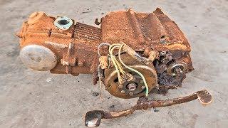 1980 Super Cub C50 Engine RESTORATION | Restoration of 1980 Honda Super Cub C50 Part2