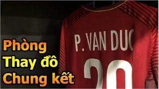 Thử Thách Bóng Đá DKP xem phòng thay đồ Quang Hải Phan Văn Đức và ĐT Việt Nam chung kết AFF CUP 2018