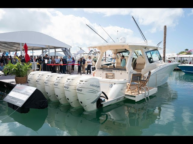 In-Depth Look: All-New Scout 530 LXF | Miami International Boat Show