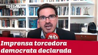 Rodrigo Constantino: Eleição americana expõe morte do jornalismo