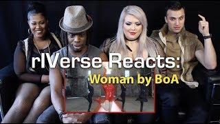 RIVerse Reacts: Woman By BoA   MV Reaction