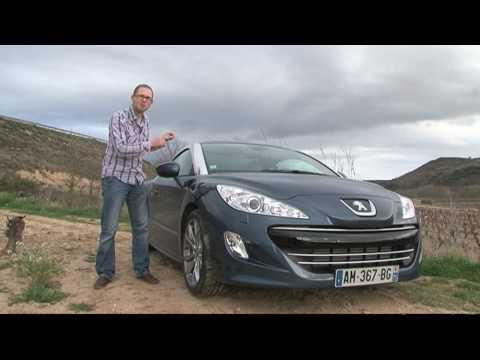 Fifth Gear Web TV - Peugeot RCZ Road Test