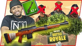 BRAND NEW GUN IN THE GAME! HUNTING RIFLE! - FortNite Battle Royale Ep.96