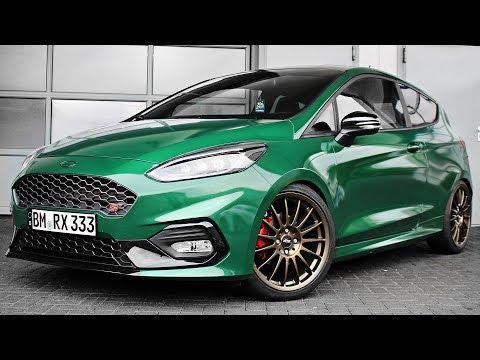 Enthüllung der neuen Farbe / Folierung! - Ford Fiesta ST Mk8 Diary - Tag 42