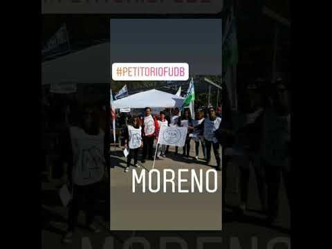 Jornada de Lucha Provincial Docente- septiembre 2019