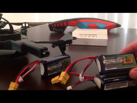 Parrot A.R Drone 2.0 battery options