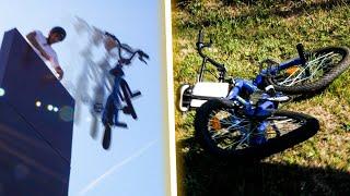 CRASH TEST D'UN BMX À 80€ !