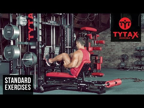 TYTAX® T1-X | Sled Seated Calf Raise