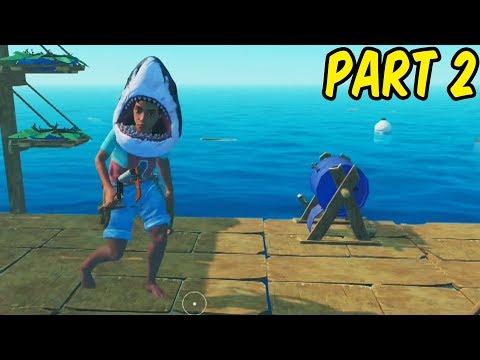 Download 4 Idiots On A Raft - Teo Plays Raft Co-op W/Paddy, Alex & Sammy Part 2 HD Mp4 3GP Video and MP3