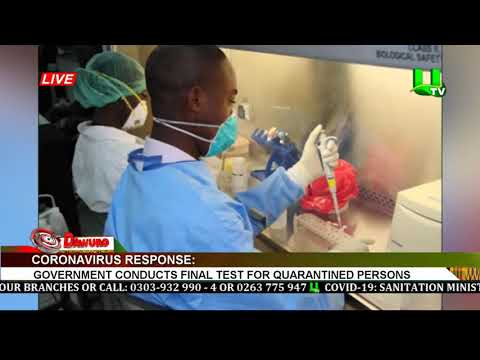 Coronavirus Response: Gov't Conducts Final Test For Quarantined Persons
