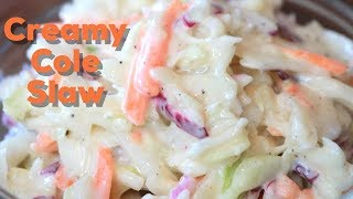 Creamy Coleslaw: Easy Recipe (NEW)