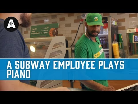 How Well Can a Subway Employee Play Piano?