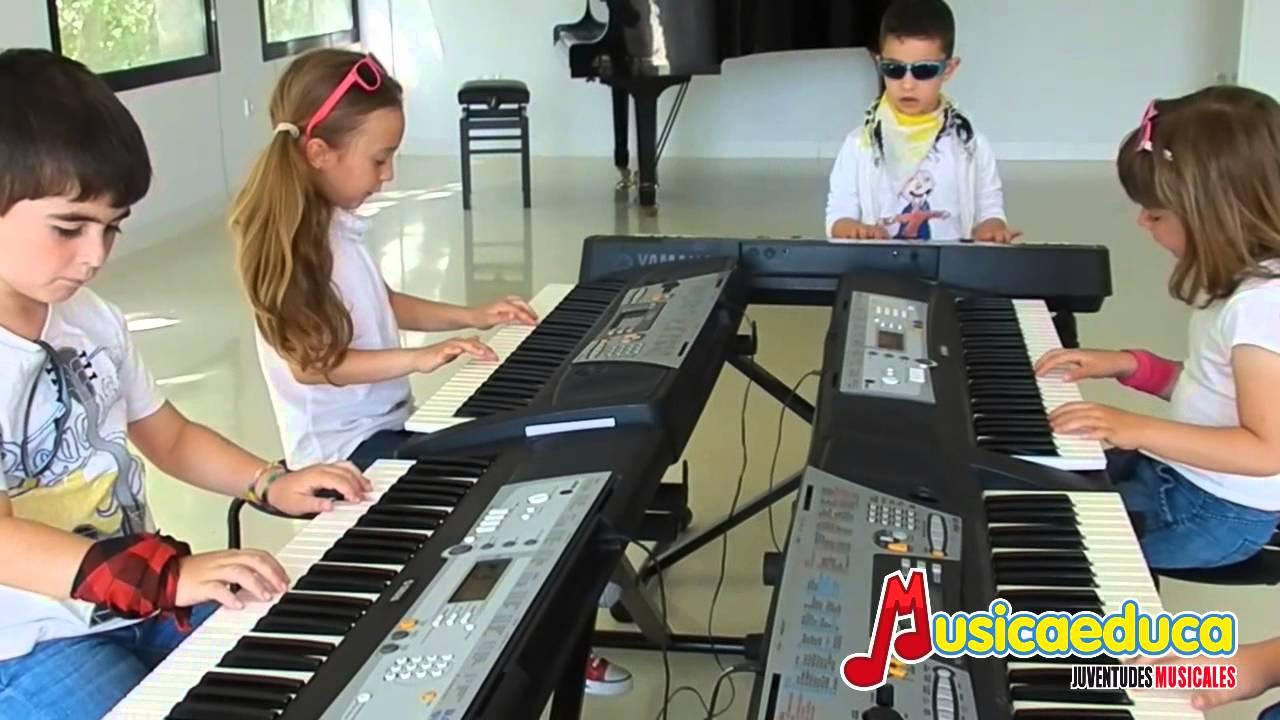 Himno de la alegría - Grupo de alumnos de Mi Teclado 1 - Musicaeduca Juventudes Musicales de Alcalá