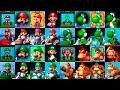Mario Kart Classic Characters Evolution   Evolución de los personajes clásicos