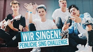 WIR SINGEN PEINLICH! Feat. Noah Levi & Jannik Brunke