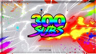 THANK YOU FOR 300 SUBSCRIBERS!