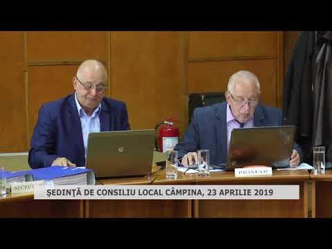 Şedinţă Consiliu Local Câmpina 23 04 2019