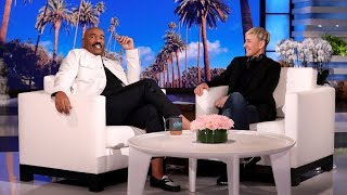 Steve Harvey Stopped Trying to Lose Weight