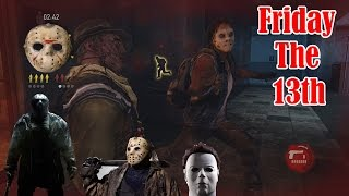 FRIDAY THE 13th SPECIAL! The Last of Us Factions - JASON & MICHAEL MYERS GAME MODE!