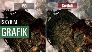 Skyrim: Grafikvergleich der Switch-Version mit der PC-Version