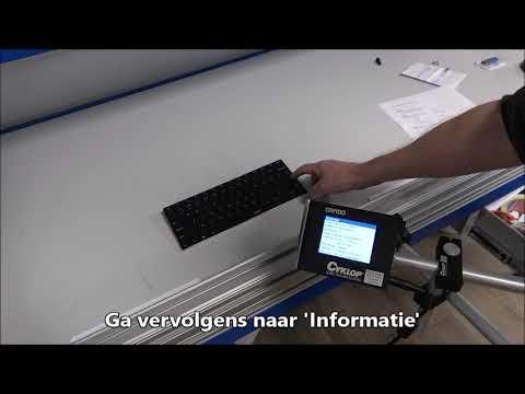 CM 100: Inktniveau controleren