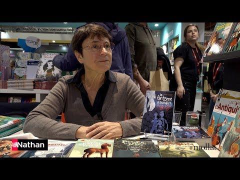 Hélène Montarde au Salon du livre de Montreuil